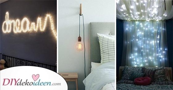 20 Tolle Ideen Für Deine Schlafzimmer Beleuchtung – Eine Schöne Schlafzimmerlampe
