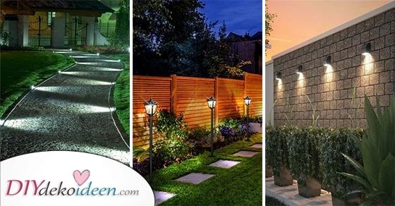 20 Tolle Ideen Für Moderne Gartenbeleuchtung – Außenbeleuchtung Für Den Garten