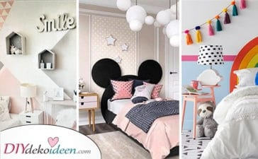 25 Tolle Ideen Für Mädchenzimmer – Die Besten Mädchenzimmer Deko Ideen