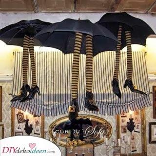 Die Hexen aufhängen – Tolle Halloween Dekorationen
