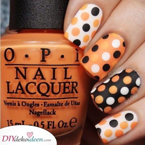 Weiß, Orange, Schwarz – Einzigartige Kombination