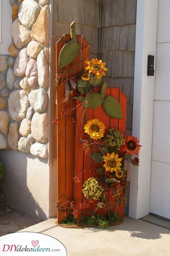 Ein paar Sonnenblumen – Gelb und Schön