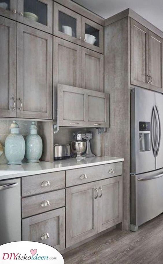Einfach und wunderschön – Kleine Küchen Ideen