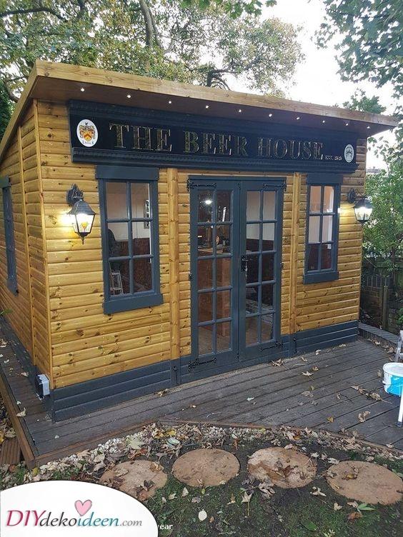 Ein Bierhaus – Ideen für eine Sommerhaus Bar