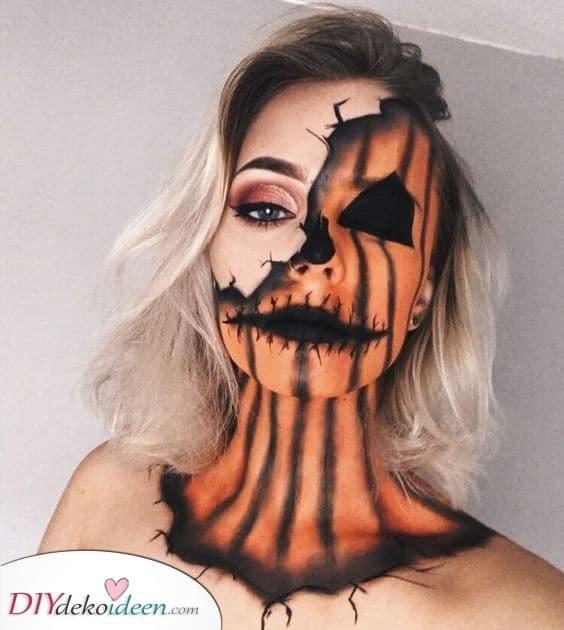 Ein gruseliger Kürbis – Perfekt für Halloween