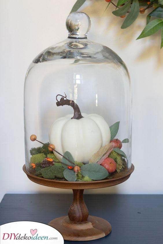 Eine Idee aus Glas – Schöne Deko für den Herbst