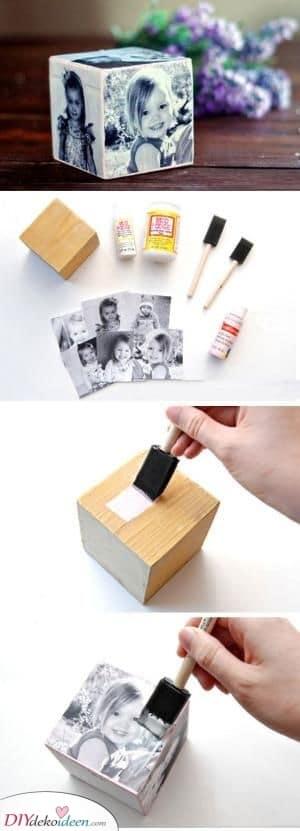 Foto Würfel – Personalisierte Geschenke zum Muttertag