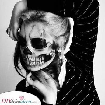 Ein Skelett werden – Gruselige Halloween Kostüm Ideen