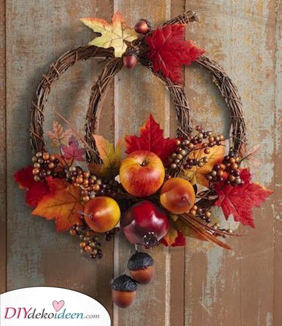 Kreativ und wunderschön – Herbstkränze selber machen