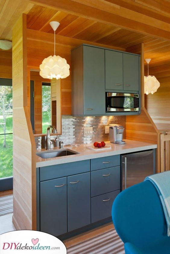 Fabelhaft in Holz – Eine schöne kleine Küchenzeile für Ihr Heim