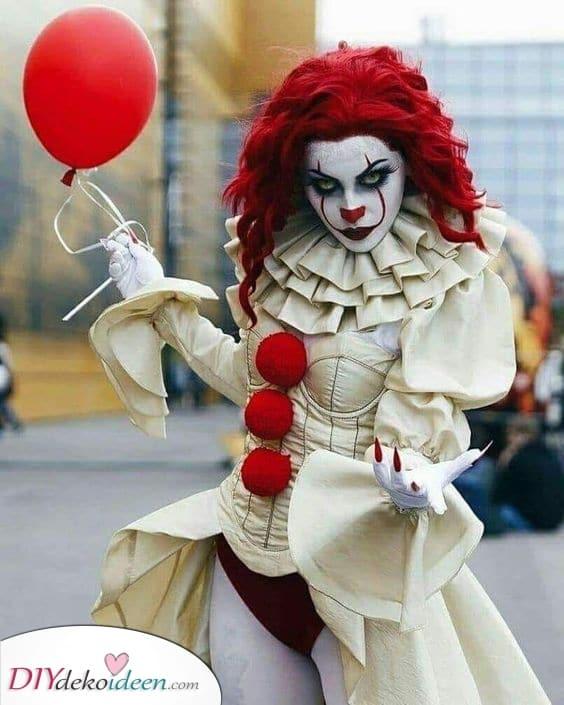 Pennywise der tanzende Clown – Ein echtes Horror Kostüm