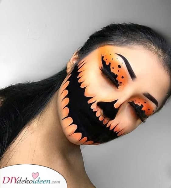 Ein gruseliger Look – Einfache Halloween Schmink Ideen