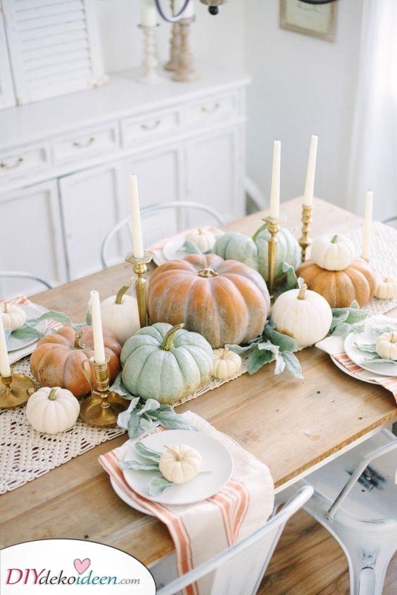Schöne Herbststimmung – Herbstliche Tischdeko
