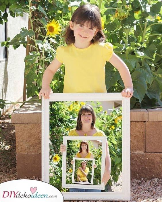 Ein Generationenportrait – Muttertagsgeschenk Ideen selber machen