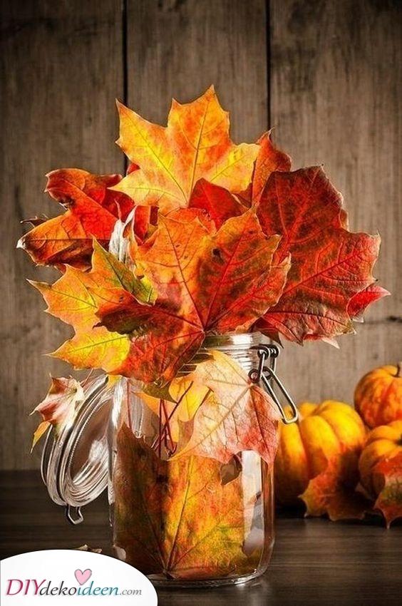 Kreativ und flippig – Herbstdeko Ideen