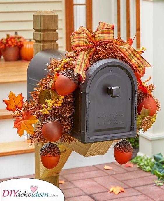 Dekorieren Sie Ihren Briefkasten – Tolle Deko für draußen