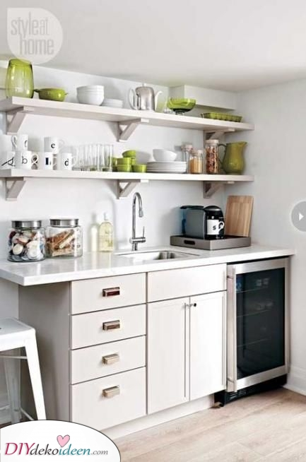 Trendy und ganz einfach – Moderne kleine Küchenideen