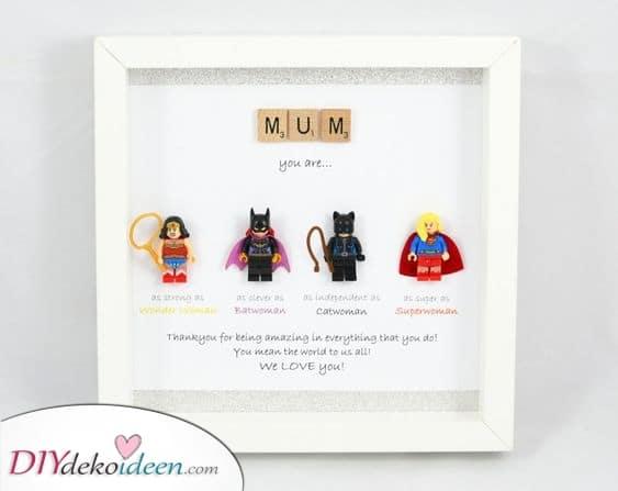 Superhelden Mama – Tolle Geschenkidee