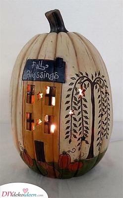Ein kleines Haus – Herbstlich schön