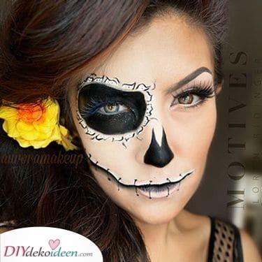 Tag der Toten – Halloween Make-up Ideen für Erwachsene