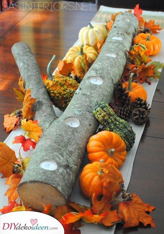 Schöne Tischdekoration – Herbstdeko Ideen
