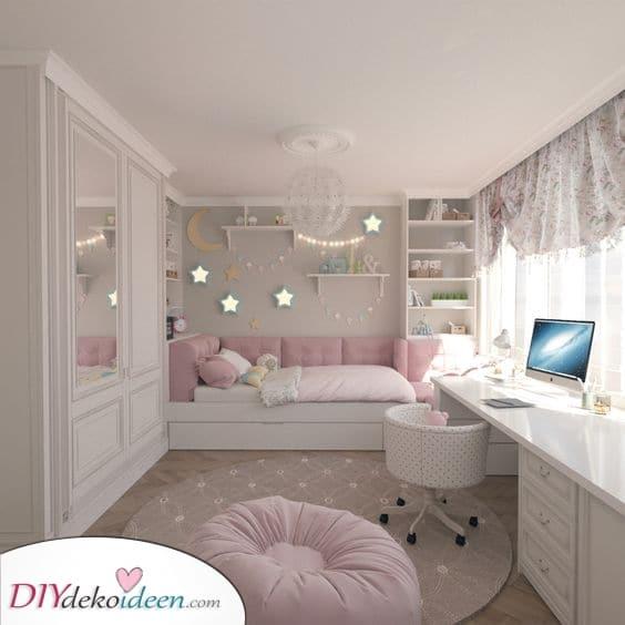 Ein Sternenhimmel – Mädchen Schlafzimmer Ideen