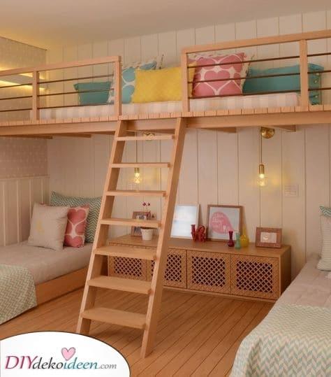 Ein entzückendes Loft – Mädchenzimmer Ideen