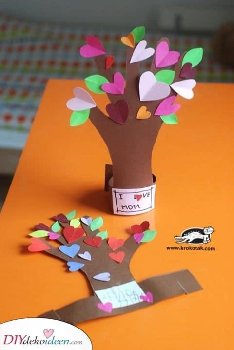 Schöne Bäume – Handgemachte Geschenke für Mama