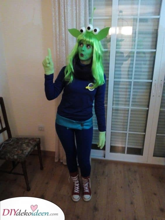 Ein Alien – Kostüme für Halloween
