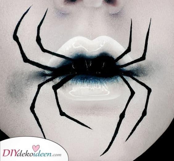 Lippen Kunst – Halloween Make-up Ideen für Erwachsene