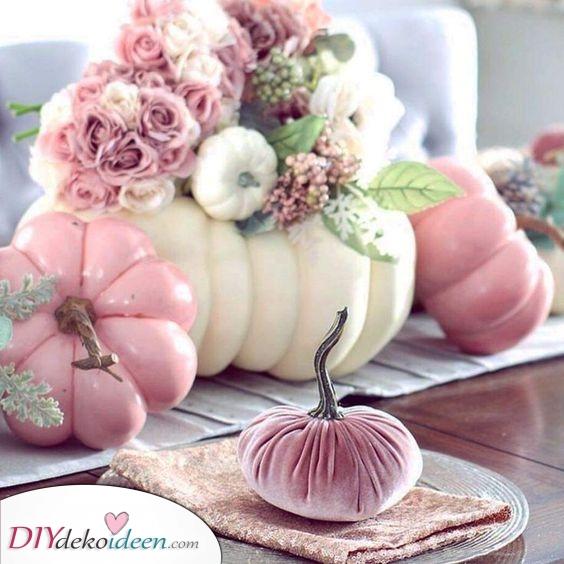 Hübsch in Pink – Deko für den Herbst