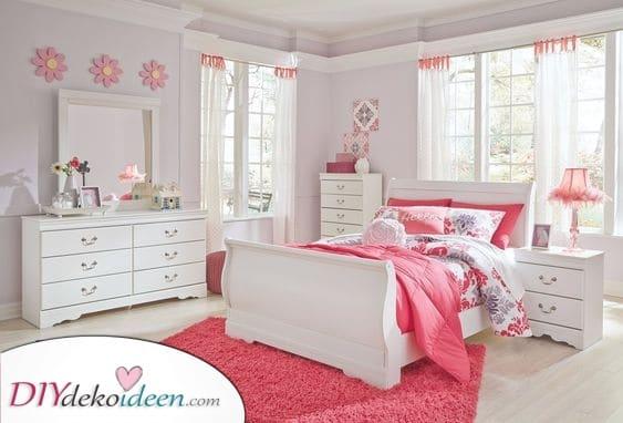 Eine rosa Parade – Mädchen Schlafzimmer Ideen