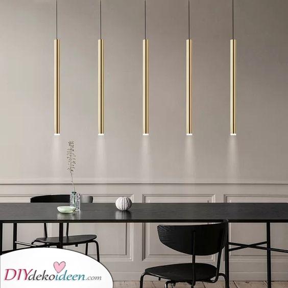 Schöne Pendelleuchten – Einzigartige und moderne Esstisch Beleuchtung