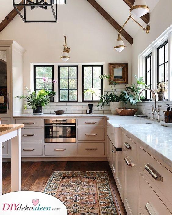 Stilvoll in Weiß – Moderne Küchen Ideen