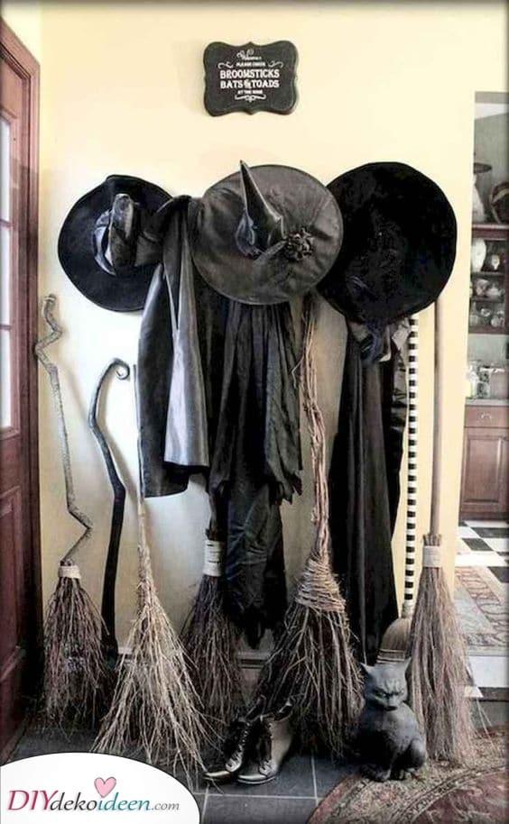 Eine Versammlung von Hexen – Partydekorationen