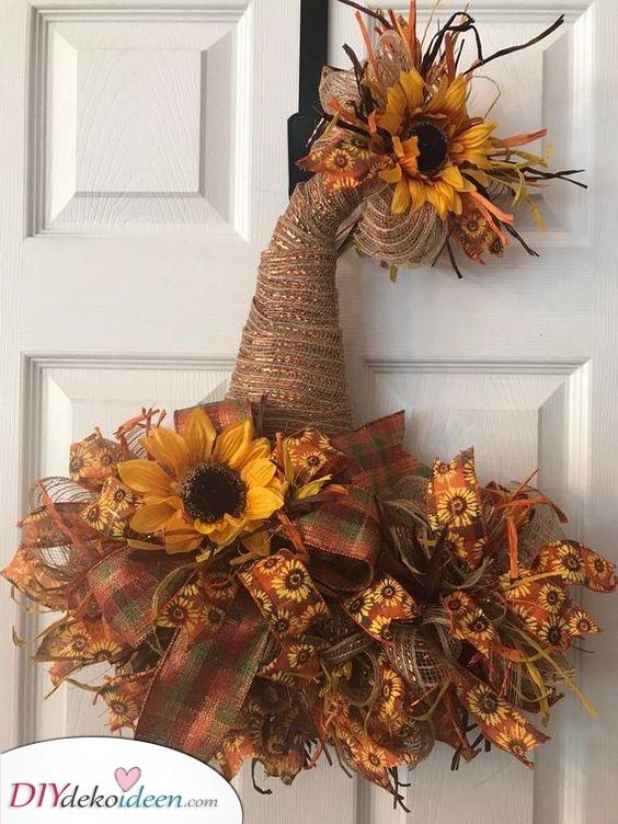 Ein Hexen Hut – Herbstkränze selber machen