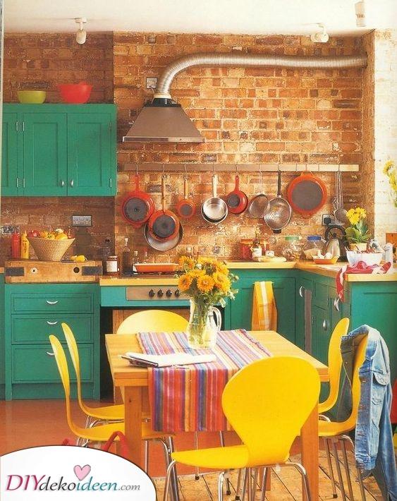 Lebendige Küchen Ideen – Eine prickelnde Atmosphäre