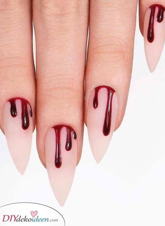 Ein bisschen Blut – Beängstigend atemberaubende Nägel
