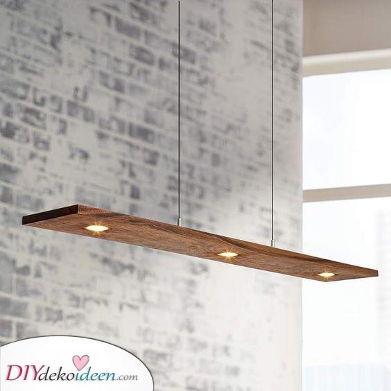 Einfach und schön – Eine minimalistische Esstisch Beleuchtung