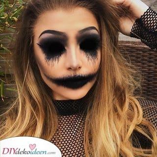 Wirklich unheimlich – Halloween Make-up Ideen ohne Augen