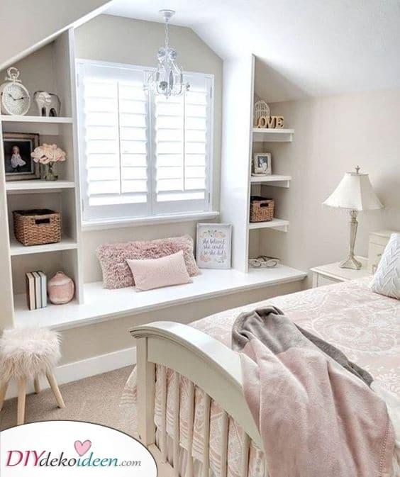 Gemütlich und süß – Mädchen Schlafzimmer Ideen