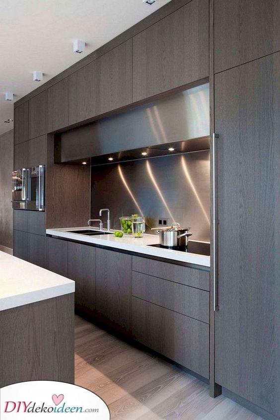 Modern und zeitgenössisch – Aufbewahrungshilfen für Küchenschränke
