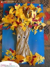 Farben des Herbstes – Ein entzückender Baum