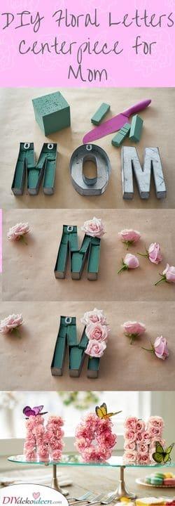 DIY Blumen Briefe – Einzigartige Geschenkideen