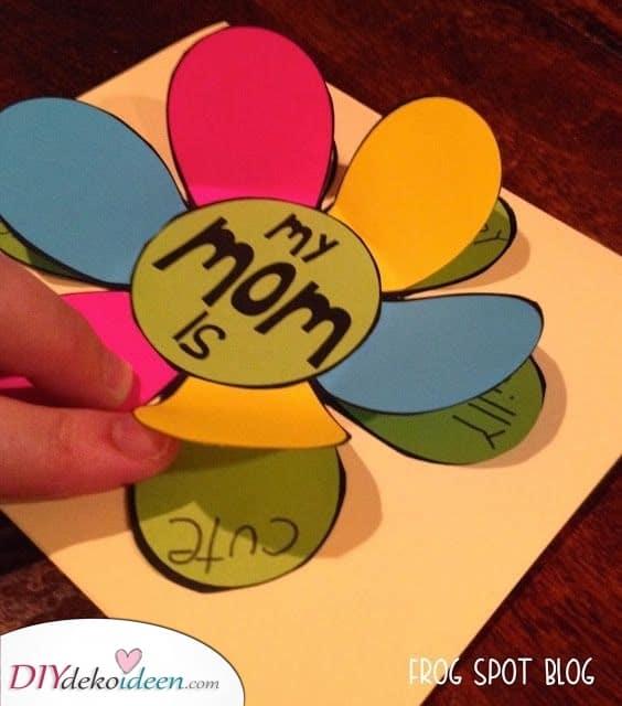 Karte für Ihre Mutter – Günstige Geschenkideen zum Muttertag