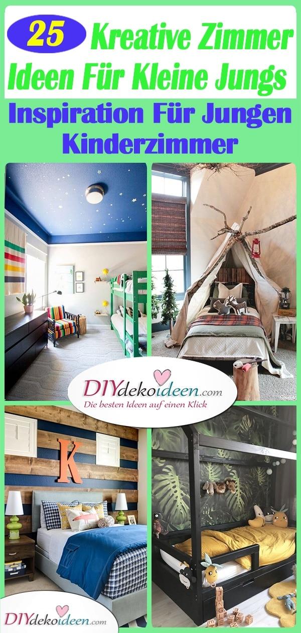 25 Kreative Zimmer Ideen Für Kleine Jungs – Inspiration Für Jungen Kinderzimmer