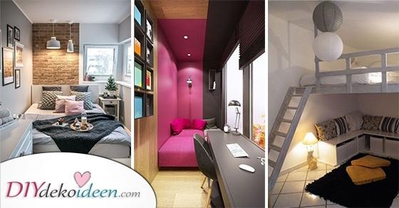 20 Tolle Ideen Für Kleine Schlafzimmer – Ganz Leicht Kleine Schlafzimmer Einrichten