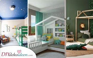 25 Kretive Zimmer Ideen Für Kleine Jungs – Inspiration Für Jungen Kinderzimmer