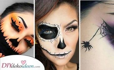 25 Tolle Halloween Make-up Ideen – Ihre Halloween Schminke