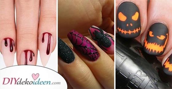 25 Tolle Halloween Nägel Ideen – Ihr Nageldesign Für Halloween
